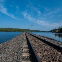 Rail Line - Looking NorthWest, Садбури