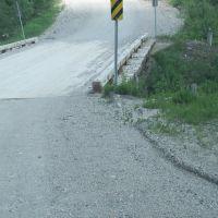 Bridge on logging road on the way to Nakina, Сант-Томас