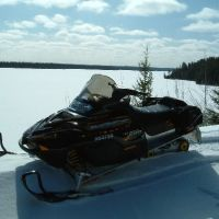 Snowmobiling on the Greenstone Loop, Солт-Сант-Мари