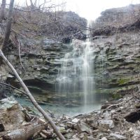 East Vinemount Falls in Stoney Creek section of Hamilton Canada, Стони-Крик