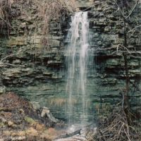 Tallman West Falls (also called Shed Falls) in Hamilton Canada, Стони-Крик