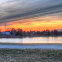 Gillies Lake Sunset from Hill, Тимминс