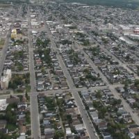 Timmins from the air, Тимминс