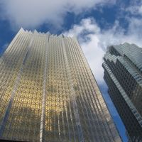 Skyscrapers - Royal Bank Plaza - View from Union Station Toronto, Торонто