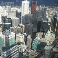 Toronto from CN Tower, Торонто