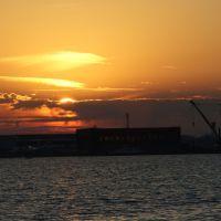 Sunset at Toronto Island Airport, Торонто