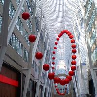 Red Ball and more......Allen Lambert Galleria, Brookfield Place, Bay Street, (BCE) Red Ball project, Торонто
