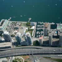 Канада-Торонто-Гледка от ТВ кула,Canada-Toronto-View from TV tower, Торонто