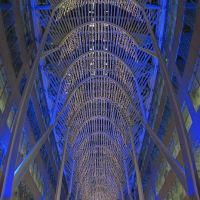 Holiday Illumination at Allen Lambert Galleria/Brookfield Place, Toronto, ON, Canada, Торонто