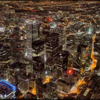 Toronto Night Lights, Торонто
