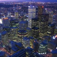 View from the CN Tower [002973], Торонто