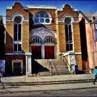 Minsker synagogue on St. Andrews St. - 1930. Architects Kaplan & Sprachman, Торонто