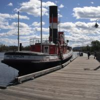 100 year old James Whalen Tug, Тундер Бэй
