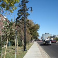 Syndicate Ave streetscaping looking north, Тундер Бэй