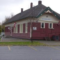 The former CNR station in Newmarket, now used for the Chamber of Commerce., Ньюмаркет