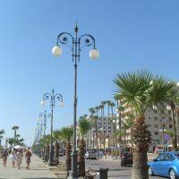 Larnaca impozáns tengerparti sétánya, Ларнака