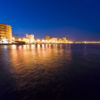 Larnaka by night/ Λάρνακα, Ларнака