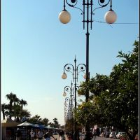 Larnaca : A tengerparti sétány., Ларнака