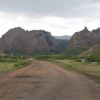 Up to Kara-keche pass, Ак-Шыйрак