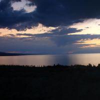 Закат над Иссык-Кулем, Каджи-Сай