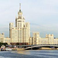 Stalins skyscraper - Высотка на Котельнической, Покровка