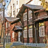 Moscow. Where tourists do not go. Pokrovsky Boulevard. Old House., Покровка