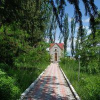 Часовня в мемориальном музее Н.М.Пржевальского (июнь 2013г.), Пржевальск