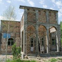 Строительство здания музея Хусейна Карасаева (июнь 2013г.), Пржевальск