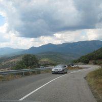 Дорога Р-29 Алушта-Судак. Alushta-Sudak road P-29., Рыбачье