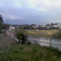 Вид на горы с водокачки, Каинды