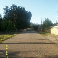 Перекресток улиц Белоброва и Ломоносова в сторону Кабельного завода, Каинды