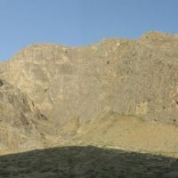 Aravan, Chileston cave mountain (panorama), Араван