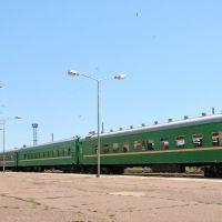 Вагоны пригородного поезда, Балыкчи