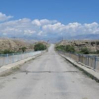 Bridge over Naryn, Лебединовка
