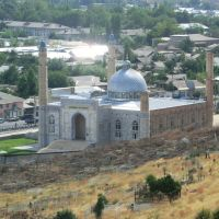 New mosque below Sulaiman Too, Ош