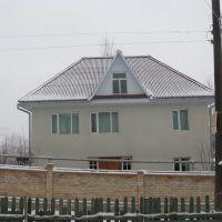 Kadamzhay, winter, Severnaya street, Пульгон