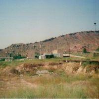 гора Крокодилка вид с города, Таш-Кумыр