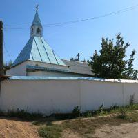 Cholpon-Ata, russian orthodox church, Чолпон-Ата