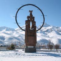 Naryn im Winter, Нарын