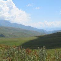 Tertjaylyak pass 2150m, Суусамыр