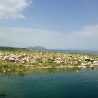 Armenia. Sevan Lake, Seagulls Island, Чаек