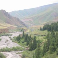 Up to Kara-Keche pass, Ала-Бука
