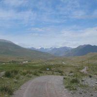 Mountain road, Арсланбоб
