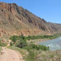 Kekemeren river, Базар-Курган
