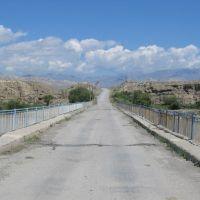 Bridge over Naryn, Базар-Курган