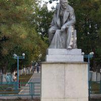 Leninstatue an der Leninstraße, Джалал-Абад
