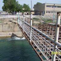 Мост через Шарихан-сай, на другом берегу- Узбекистан, когда-то очень оживленное было место., Кара-Суу