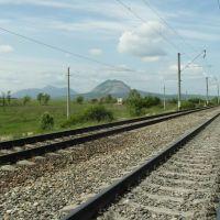 Железнодорожные Пути На Минеральные Воды 2012, Rail Road at Mineral Waters, Карамык