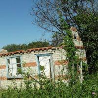 Заброшенный Без Крыши Кирпичный Дом 2012, Abandoned Brick House Without a Roof, Карамык