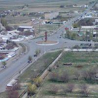 Кызыл-Кия - Дорога на Ош (фото Анвара Уракова), Кызыл-Кия